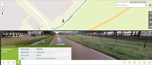 Integratie CycloMedia Street Smart in het WoW Portaal®